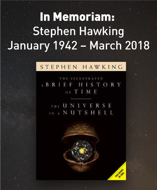 Stephen Hawking: January 1942 - March 2018